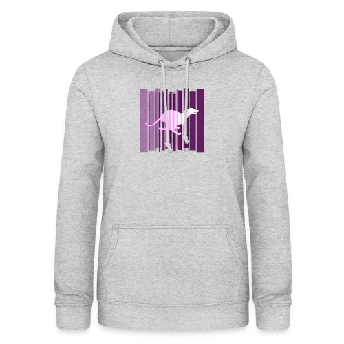 Sighthound In Purple Women's T - Women's Hoodie