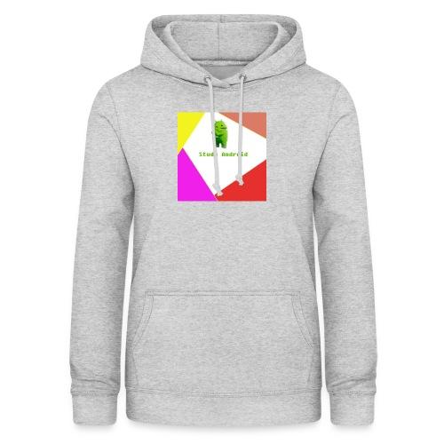 Study Android - Sudadera con capucha para mujer