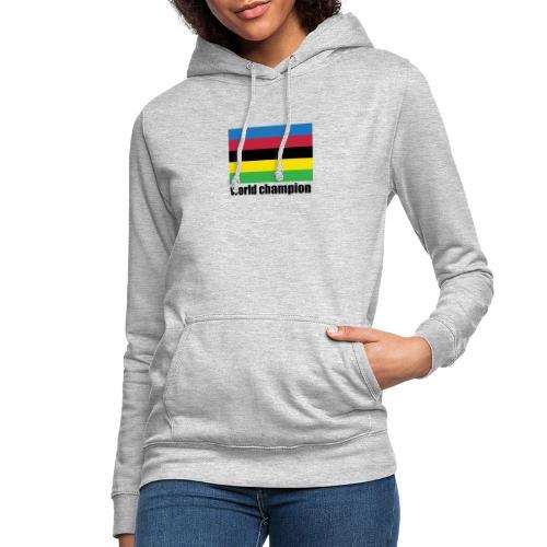 world champion cycling stripes - Vrouwen hoodie