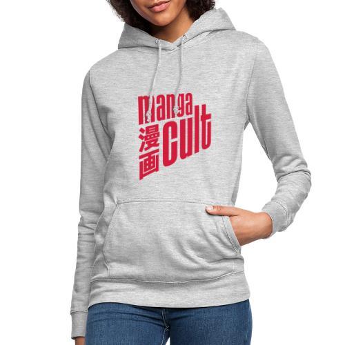 Manga Cult Logo Rot - Frauen Hoodie