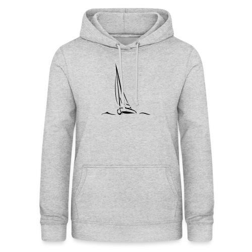 Segelboot - Frauen Hoodie