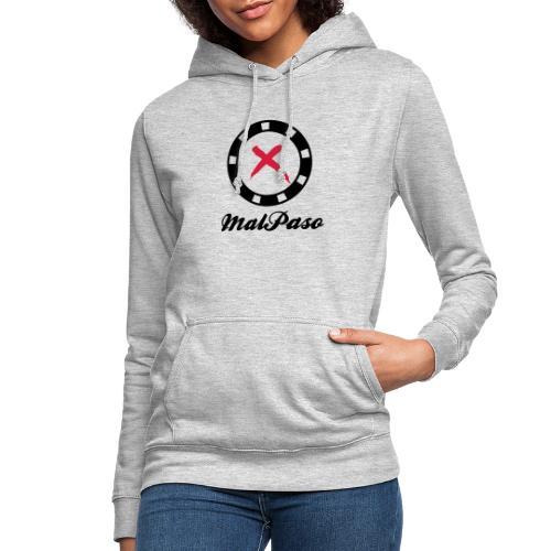 Logo Malpaso - Sudadera con capucha para mujer