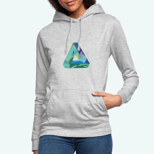 psychedlic triangle - Frauen Hoodie
