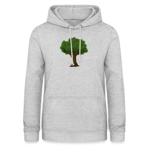 Ek träd - Luvtröja dam