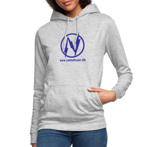 Nattefrost Logo. - Dame hoodie
