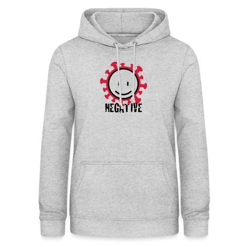 negative corona - Vrouwen hoodie
