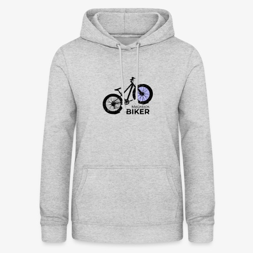 Mountain Biker - Frauen Hoodie