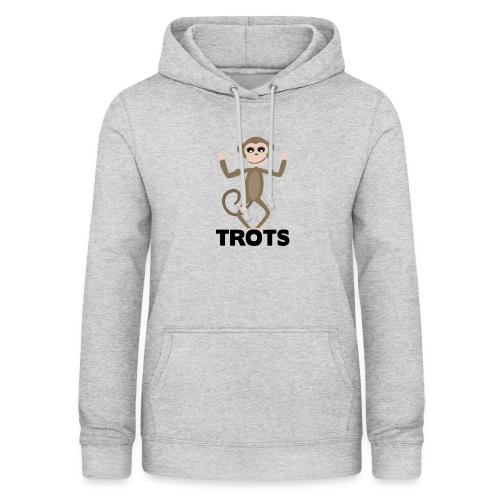 apetrots aapje wat trots is - Vrouwen hoodie