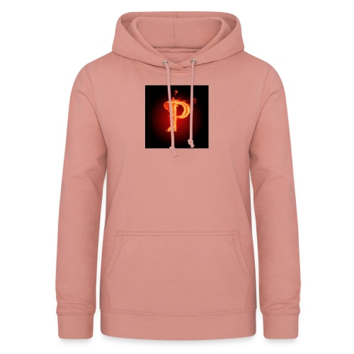 Power player nuovo logo - Felpa con cappuccio da donna