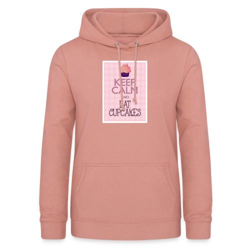 cupcake - Felpa con cappuccio da donna