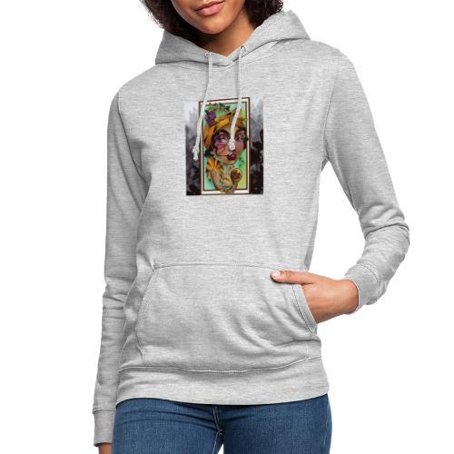 Palenquera - Sudadera con capucha para mujer