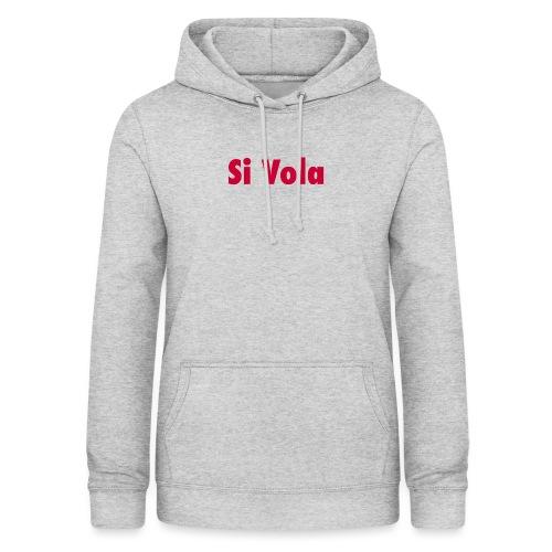 SiVola - Felpa con cappuccio da donna