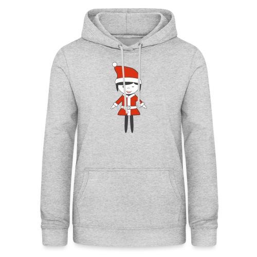 Doctora Retail Navidad - Sudadera con capucha para mujer