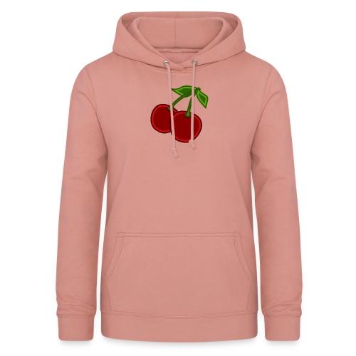 cherry - Bluza damska z kapturem