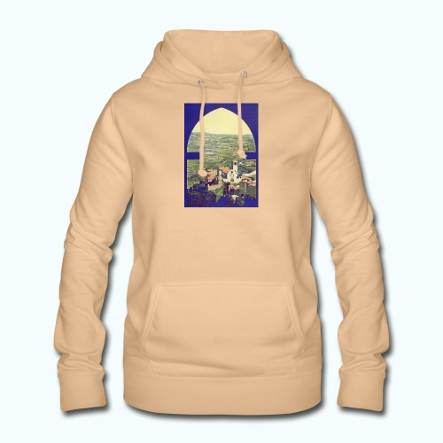 Tuscany vintage travel poster - Women's Hoodie