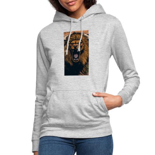 Lion grin - Frauen Hoodie