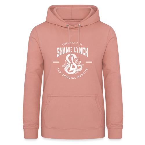White - Shane Lynch Logo - Women's Hoodie