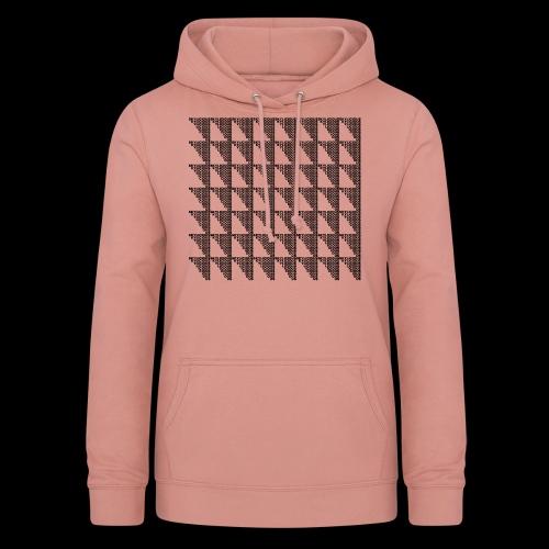 Checkered Pattern - Bluza damska z kapturem
