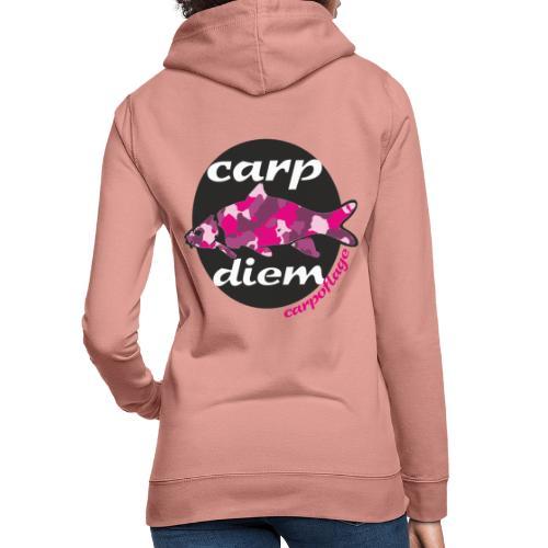 Carpoflage - Carp Diem - Frauen Hoodie