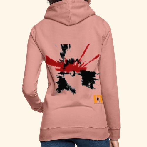 poke design - Felpa con cappuccio da donna