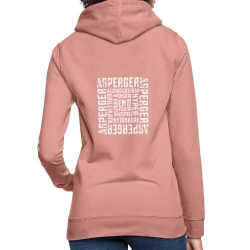 Asperger - så mycket mycket potential - Luvtröja dam