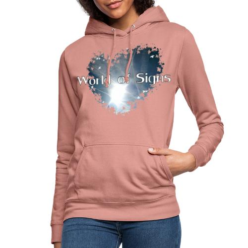 World of Signs Heart - Women's Hoodie