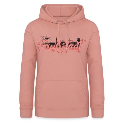 Funkstadt Shirt black / red - Frauen Hoodie