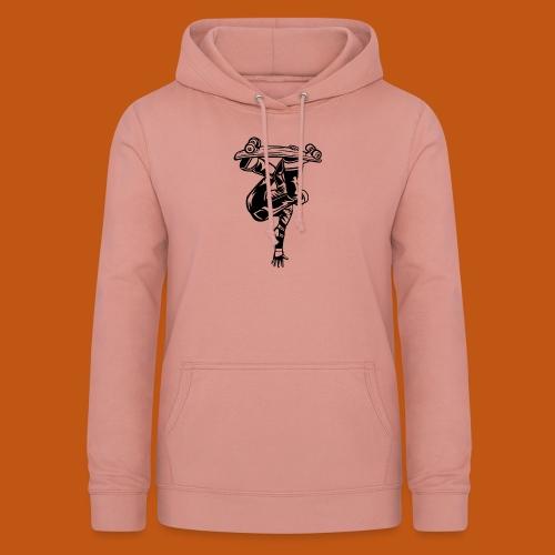 Skater / Skateboarder 03_schwarz - Frauen Hoodie