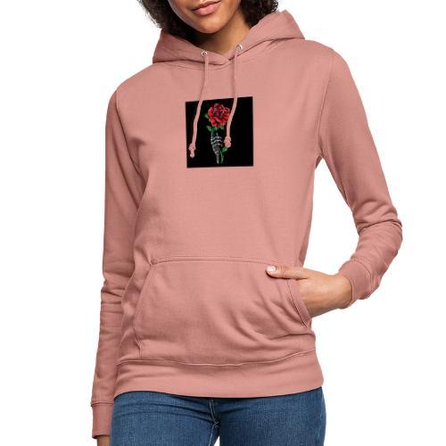 rosas - Sudadera con capucha para mujer