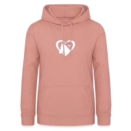 horse heart - Vrouwen hoodie