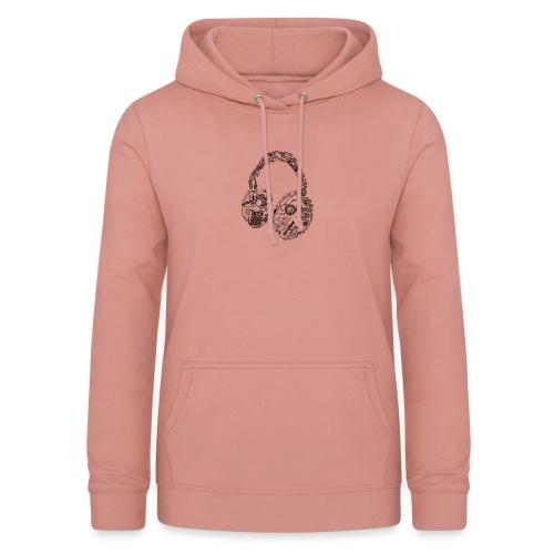 Audífonos - Sudadera con capucha para mujer