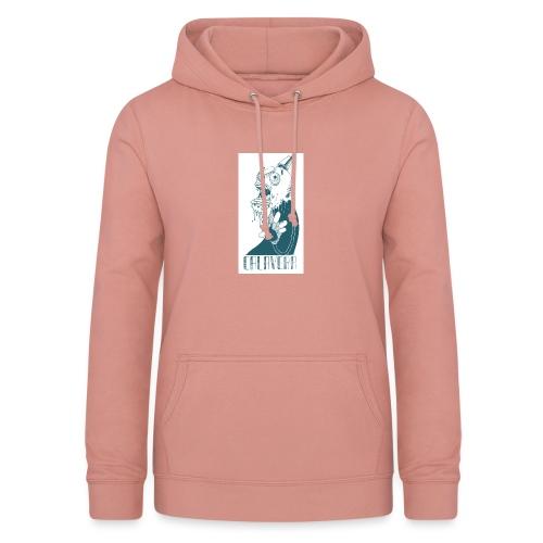 La calavera - Sudadera con capucha para mujer