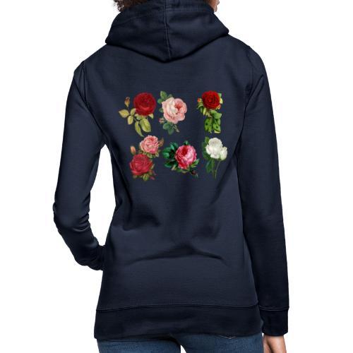 roses - Frauen Hoodie