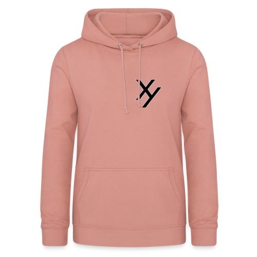 Xy logo black white - Frauen Hoodie