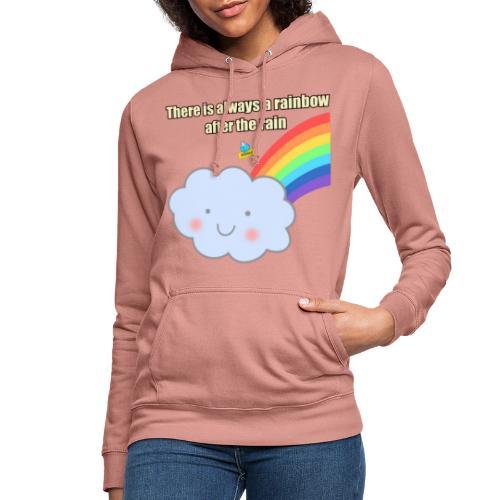 Bubbly! Rainbow - Felpa con cappuccio da donna