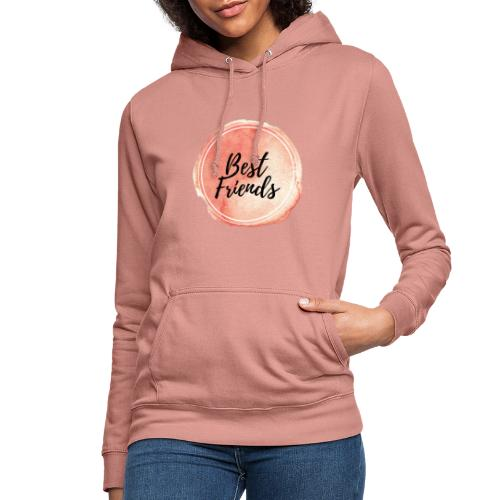 Best Friends Logo Rosa - Frauen Hoodie