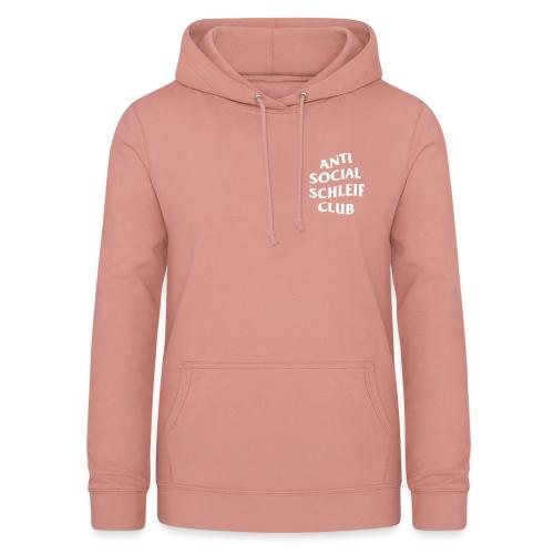anti social schleif club - Frauen Hoodie
