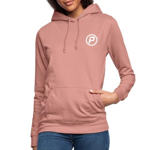 Polaroidz - Small Logo Crest | White - Women's Hoodie