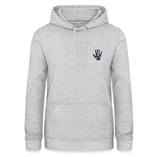 Exotic Flower Hand - Dame hoodie