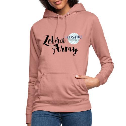 Zebra Army (black) - Women's Hoodie