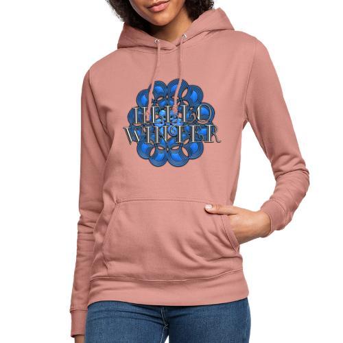 Hello Winter djf - Sudadera con capucha para mujer