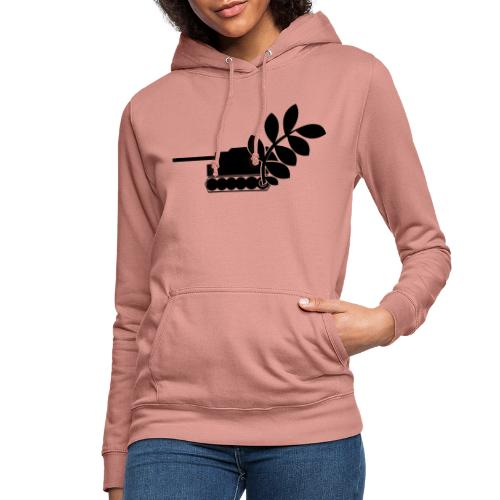 Global Campaign on Military Spending - Logo gray - Women's Hoodie