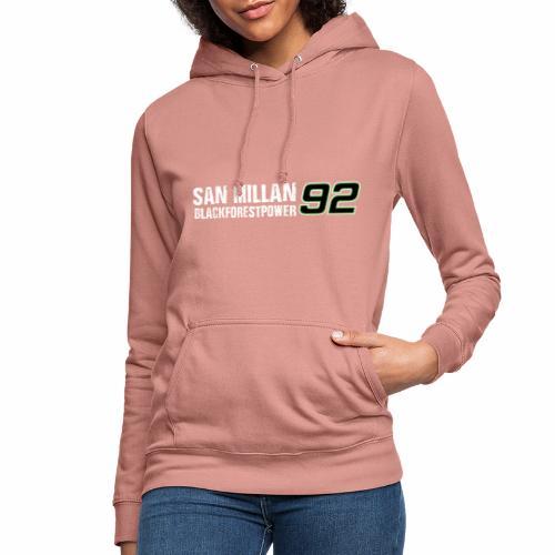 San Millan Blackforestpower 92 - Frauen Hoodie