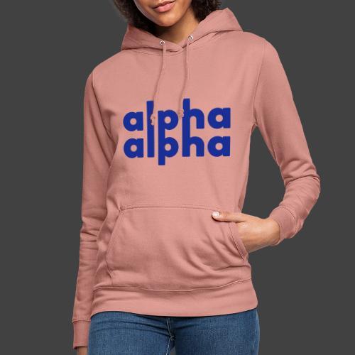 alpha alpha - Frauen Hoodie