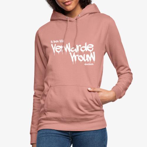 verwarde vrouw - Vrouwen hoodie