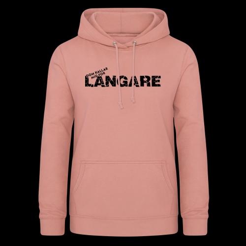 LANGARE - Luvtröja dam