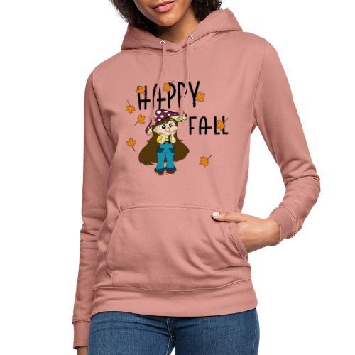 Mushroom girl - Vrouwen hoodie