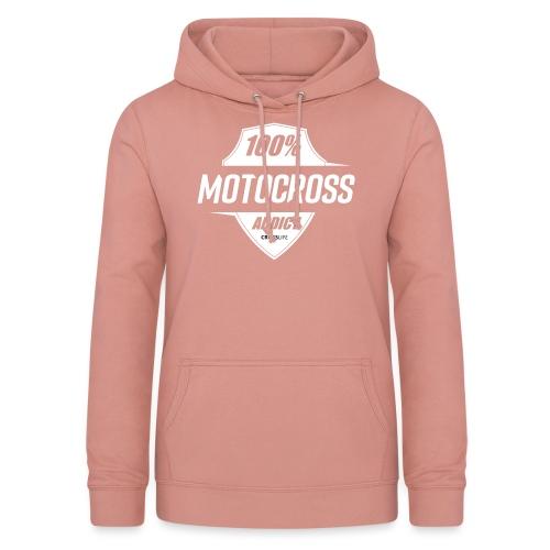 100% Motocross - Sweat à capuche Femme