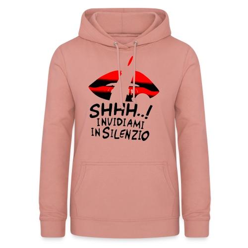 Maglietta Invidiamiot 2 - Felpa con cappuccio da donna