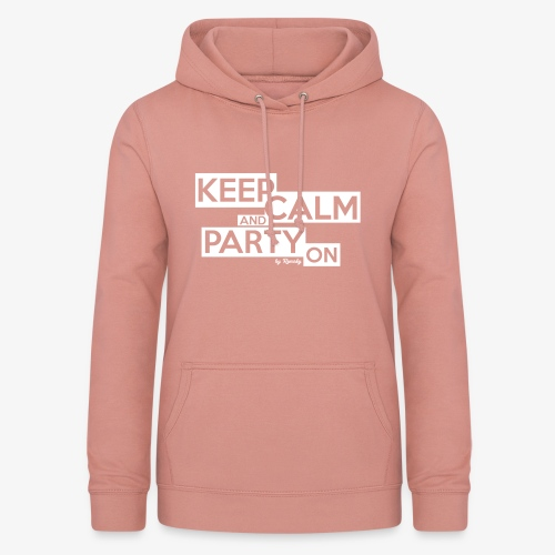 Blijf kalm - Vrouwen hoodie